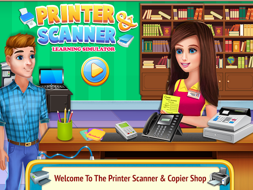 Printer Machine & Scanner Learning Simulator 6.0 screenshots 1