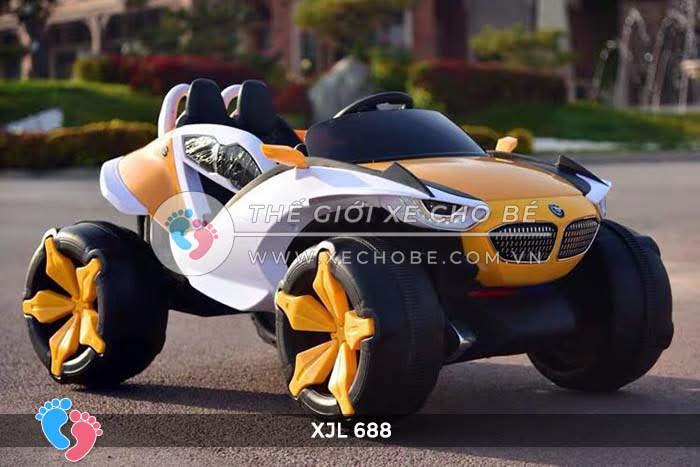 Xe ô tô điện địa hình cho bé XJL-688 10
