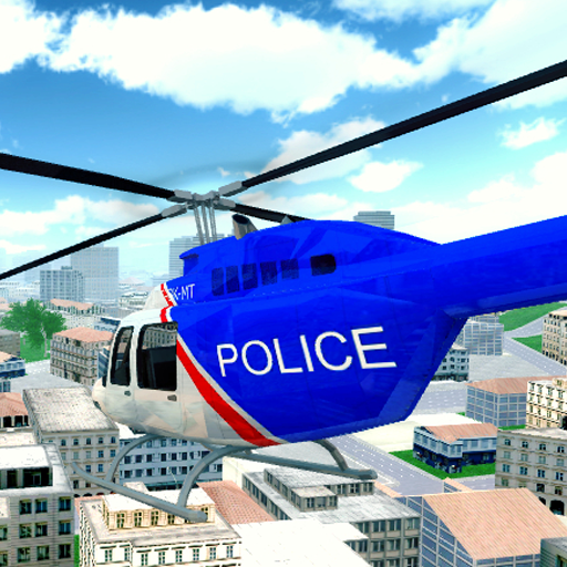 Police Helicopter City Flying (game)