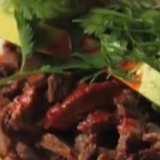 Grilled Spanish Mustard Beef