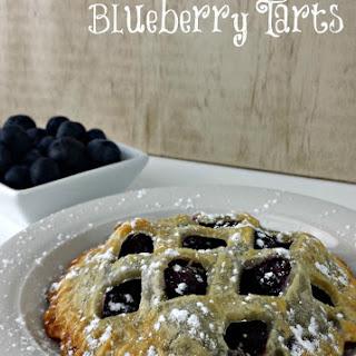 Blueberry Pie Tarts.