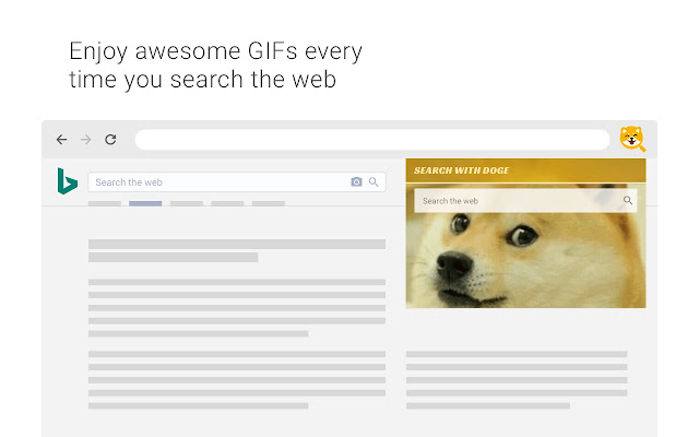 Search with Doge Meme