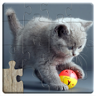 Cats Jigsaw Puzzles Games - For Kids & Adults icon