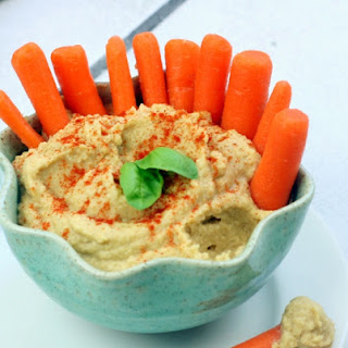 Healthy Oil Free Hummus