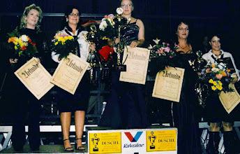 Photo: 2006: 1. Bayerische Meisterin Haidn Nadja und 2. Bayerische Meisterin Brandstäter Simone und 5. Bayerische Meisterin Bär Sabina