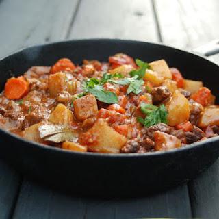 Caribbean Goat Stew.