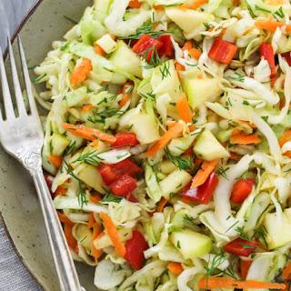 Super Healthy Cabbage Salad.