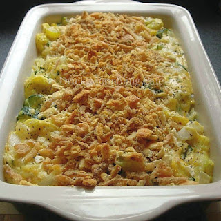 Yellow Squash and Zucchini Casserole