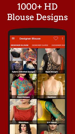 Designer Blouses screenshots 1
