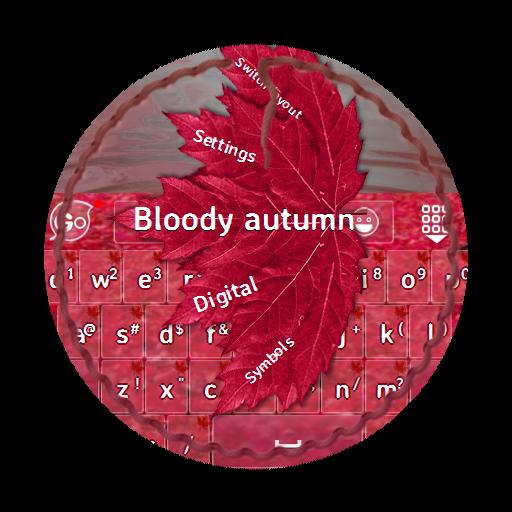 血腥的秋天 GO Keyboard LOGO-APP點子