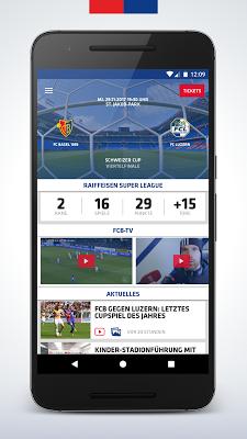 FC Basel 1893 - screenshot