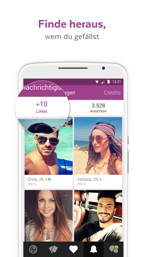 LOVOO CHAT - Flirt Dating App – Screenshot