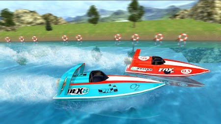 Powerboat Race 3D APK screenshot thumbnail 4