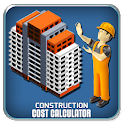 Construction Cost & Building Material Calculator icon