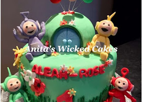 Tellie Tubbies cake