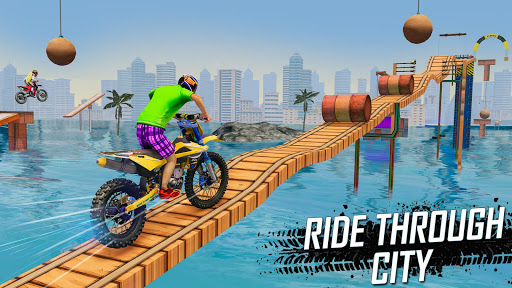 Trial Bike Racing Stunts : New Stunt Bike Games 3.9 screenshots 1
