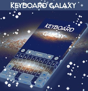 Keyboard Galaxy Theme screenshot 1
