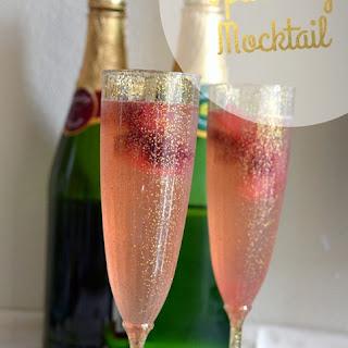 Simple Sparkling Raspberry Mocktail