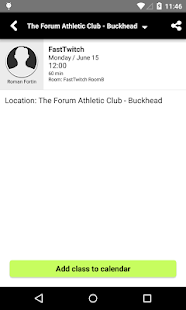 The Forum Athletic Club- screenshot thumbnail