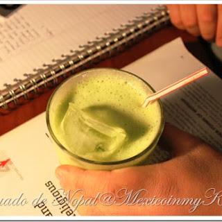Nopal Cactus Juice / Licuado de Nopales