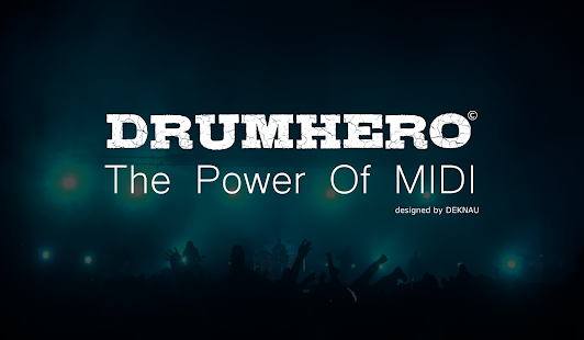 DrumHero : The Power Of MIDI- screenshot thumbnail