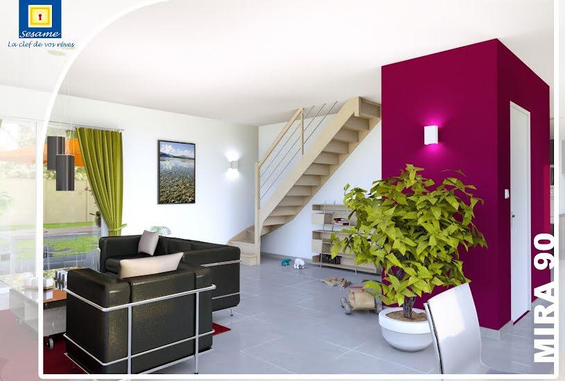 Vente Terrain + Maison - Terrain : 520m² - Maison : 100m² à Melun (77000)