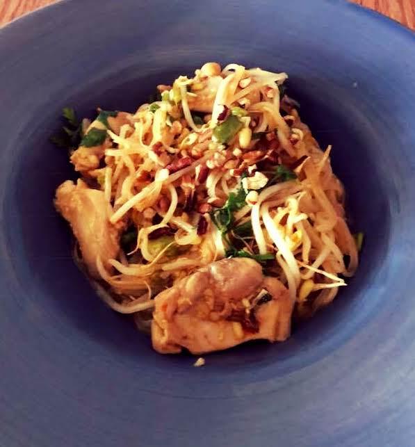 My Spin On Chicken Pad Thai Recipe