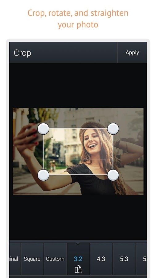 Screenshots of Photo Editor for Android for iPhone