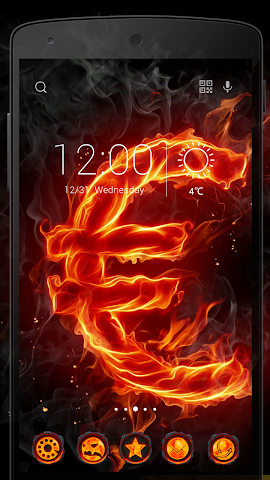 android Fire Stone-Solo Theme Screenshot 3