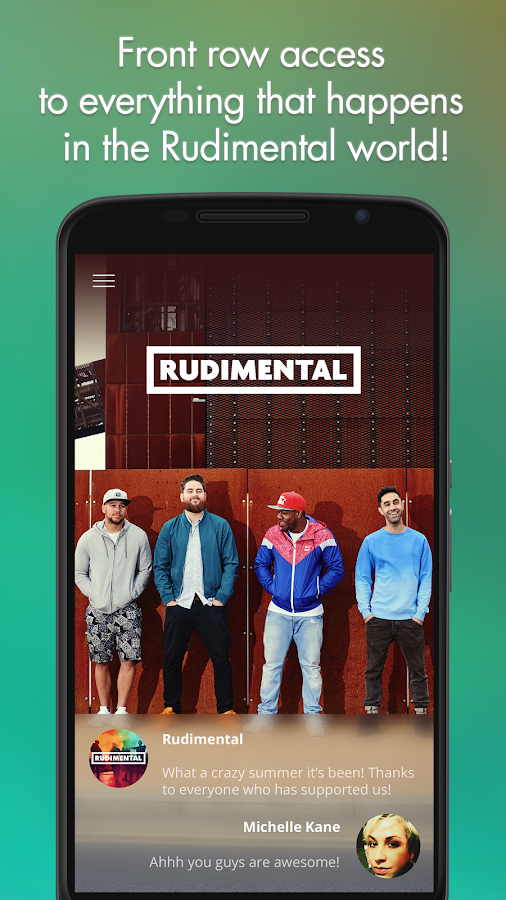 Rudimental- screenshot