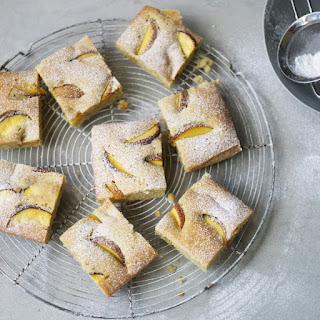 Sweet Peach Olive Oil Cake
