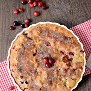 Apple Cranberry Cake Recipe
