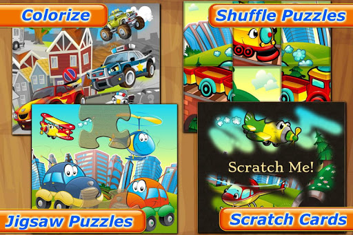 Cars for Kids: Puzzle Games Screenshot
