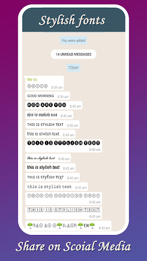 Stylish text generator : fancy fonts, emoji letter App Report on