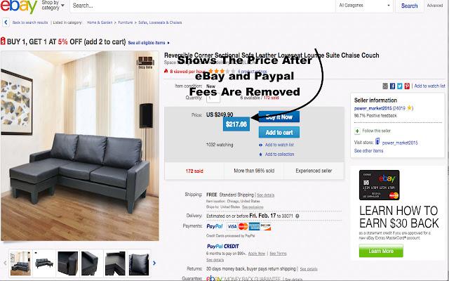 eBay Fee Remover
