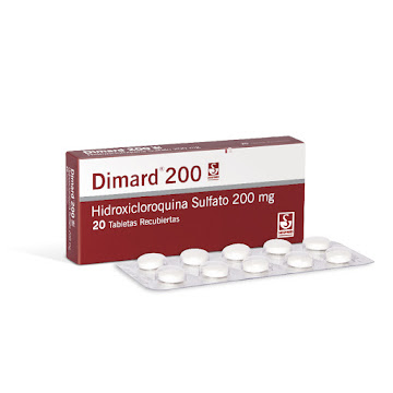 Dimard 200Mg Tableta   Caja x20Tab. Siegfried Hidroxicloroquina Sulfato