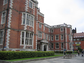 Photo: The Student Union, with new benches and notice boards