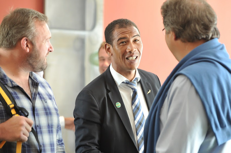Former Springbok Ashwin Willemse during day 1 of the SARU Coaching Indaba held at the Southern Sun Newlands, CAPE TOWN, 19 October 2016.
