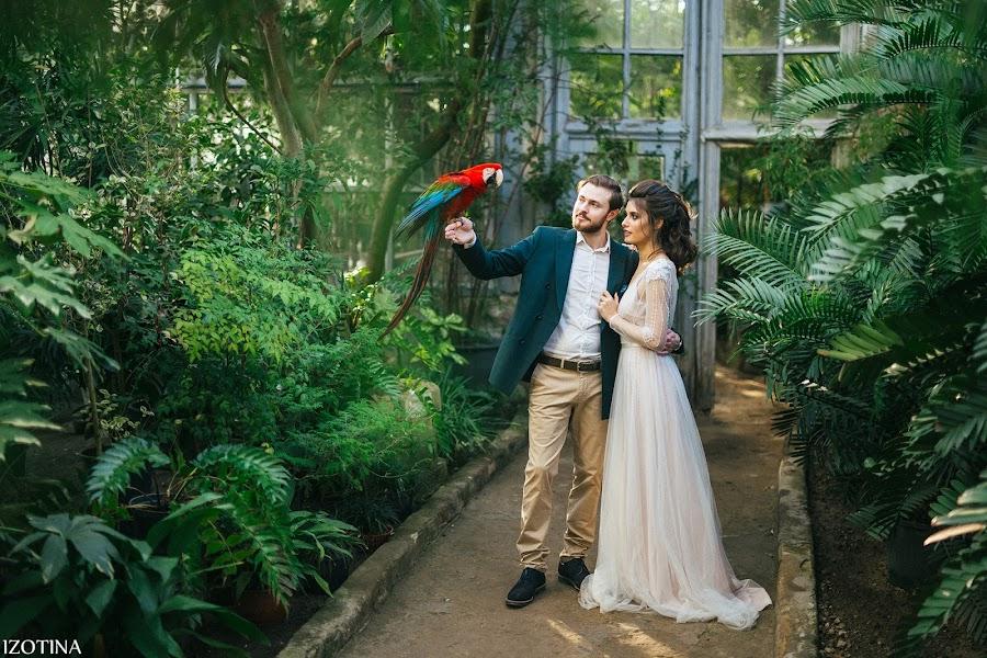Wedding photographer Evgeniya Izotina (Izotina). Photo of 11.03.2019