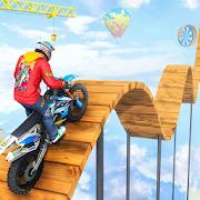 Mega Ramp Impossible Bike Crash Stunts Racing Sim
