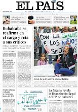 Photo: Rubalcaba se reafirma en el cargo y reta a sus críticos, la fiscalía revela la financiación ilegal del PP de Baleares y la realidad de Jerez de la Frontera, una ciudad donde todo falla, en nuestra portada del jueves 25 de octubre http://srv00.epimg.net/pdf/elpais/1aPagina/2012/10/ep-20121025.pdf