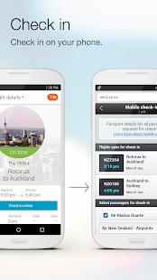Air NZ mobile app- screenshot thumbnail
