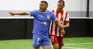 Peralta y Esteban, dos grandes de fútbol almeriense.