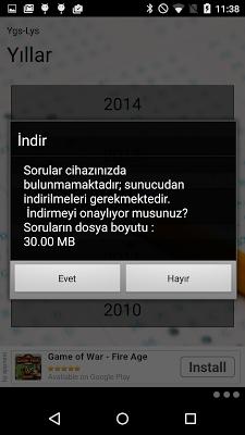 Ygs-Lys Tüm Yıllar - screenshot