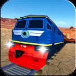 Extreme orange train driving simulator 2017 Icon