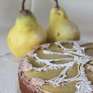 Sorta Healthy Pear Cake Recipe