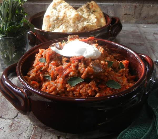 Chili With An Italian Twist!