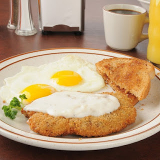 Denny's Chicken Fried Steak.