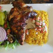 Half Peruvian Chicken Combo