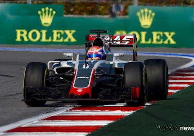 Grosjean et Palmer rétrogradés